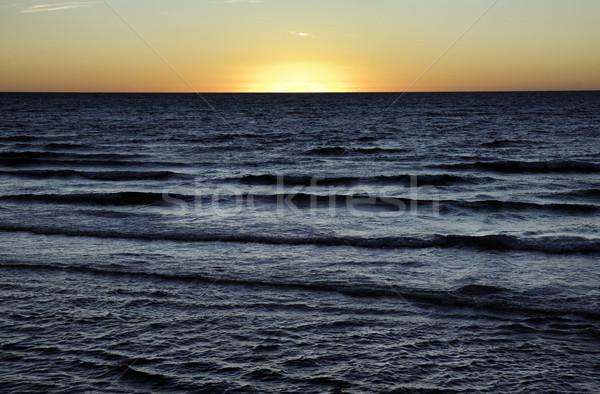óceán naplemente nap tenger Dél-Ausztrália víz Stock fotó © clearviewstock