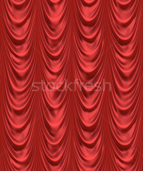 the red curtain Stock photo © clearviewstock