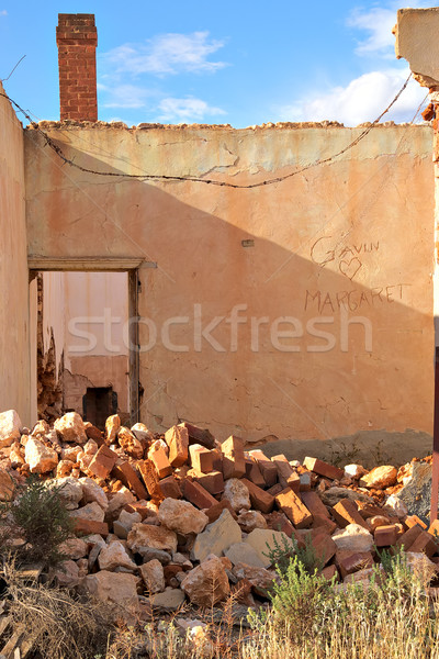 rubble in the ruins Stock photo © clearviewstock
