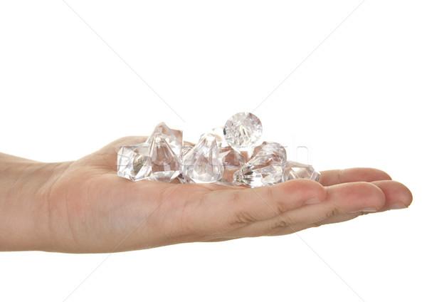 handful of diamonds Stock photo © clearviewstock