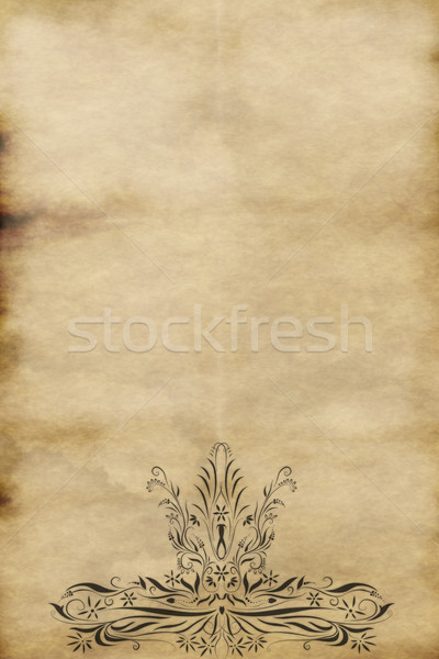 old regal paper Stock photo © clearviewstock
