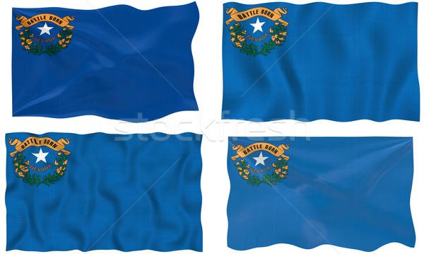 Bandeira Nevada imagem Foto stock © clearviewstock