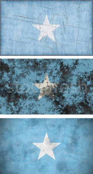 Banderą Somali obraz tle brudne Zdjęcia stock © clearviewstock