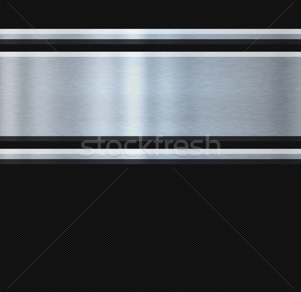 stainless steel and carbon fibre Stock photo © clearviewstock