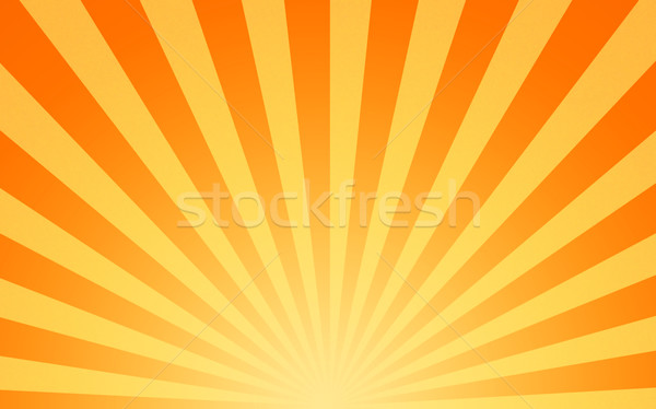 Chaud soleil jaune orange image Photo stock © clearviewstock