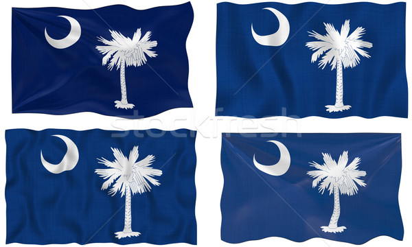 Bandeira South Carolina imagem Foto stock © clearviewstock