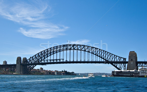 Sydney porto ponte imagem icônico Foto stock © clearviewstock
