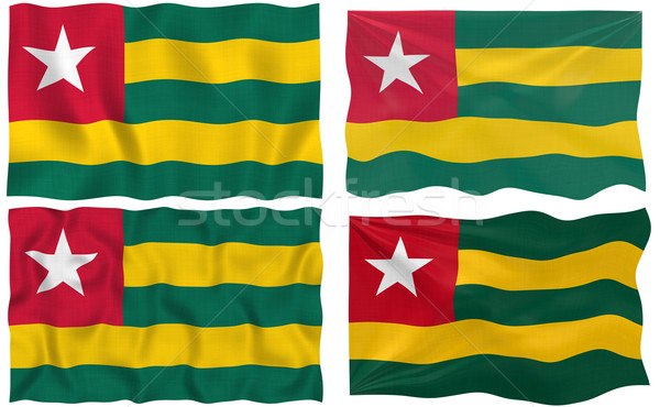 Flag of Togo Stock photo © clearviewstock
