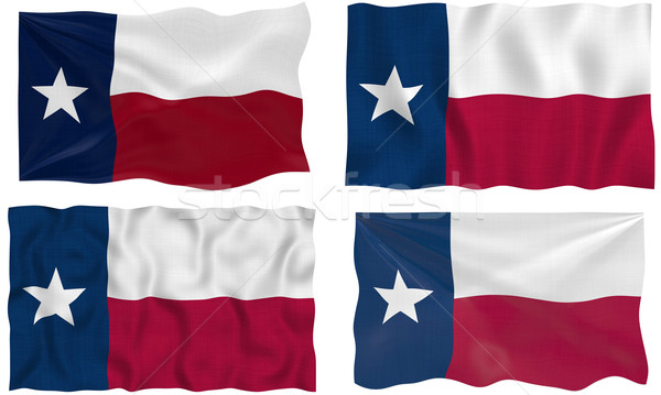 Flag of Texas Stock photo © clearviewstock