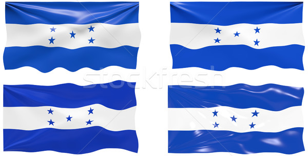 Bandeira Honduras imagem Foto stock © clearviewstock