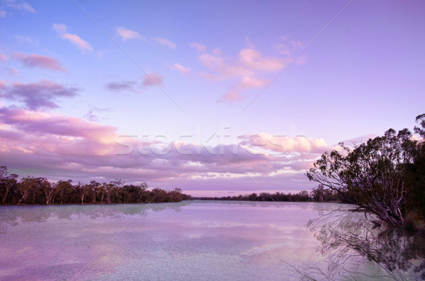 river murray sunset Stock photo © clearviewstock