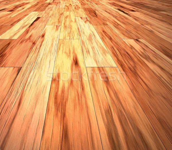 mahogany floor Stock photo © clearviewstock