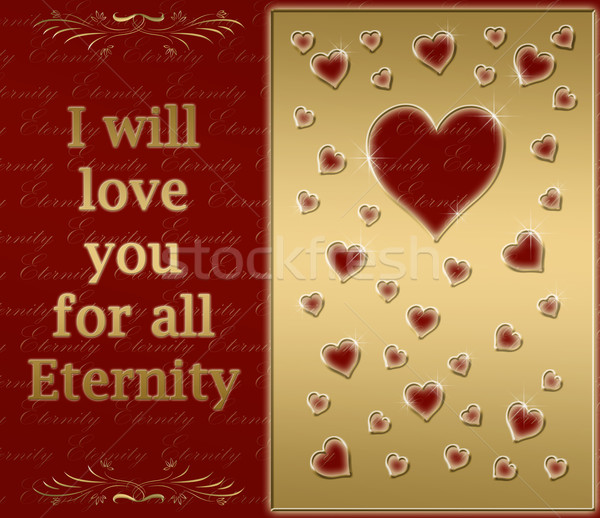 love for eternity Stock photo © clearviewstock