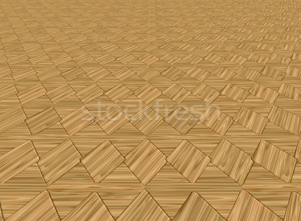 wood floor tiles Stock photo © clearviewstock