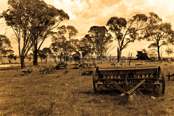 the old farm Stock photo © clearviewstock