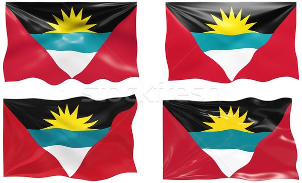 Stock photo: Flag of antigua barbuda