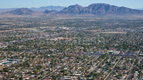 las vegas suburbs Stock photo © clearviewstock