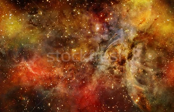 Nebulosa alto nuvem profundo espaço exterior ilustração Foto stock © clearviewstock