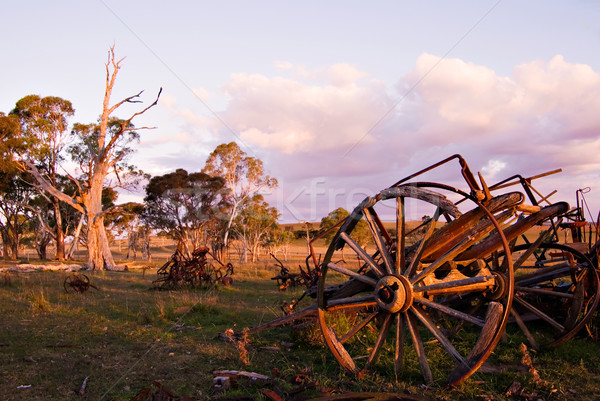 the old cart Stock photo © clearviewstock