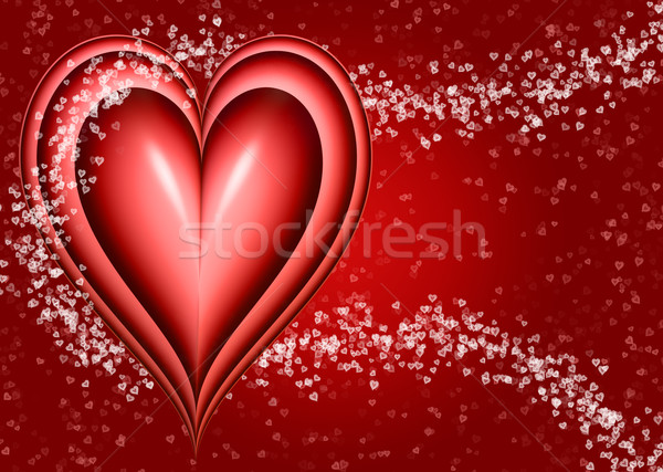 valentines heart Stock photo © clearviewstock