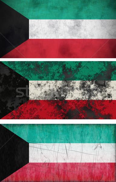 флаг Кувейт изображение Сток-фото © clearviewstock