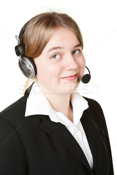 young business woman Stock photo © clearviewstock
