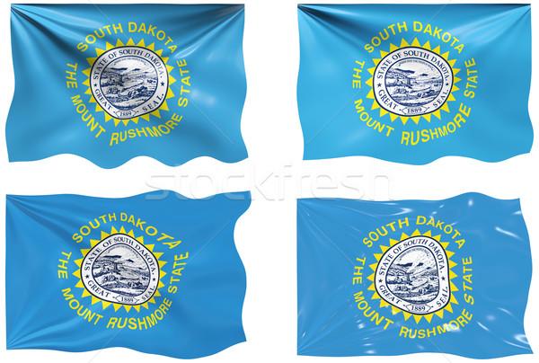Vlag South Dakota groot afbeelding Stockfoto © clearviewstock