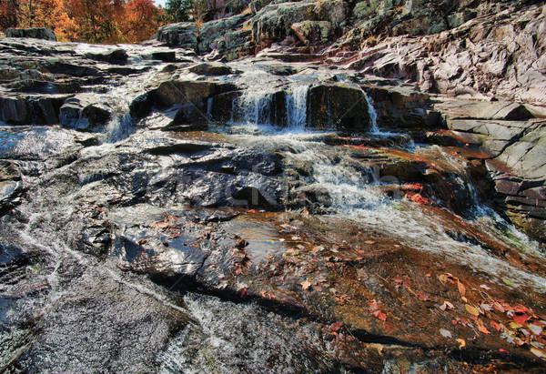 waterfall cascade in missouri Stock photo © clearviewstock
