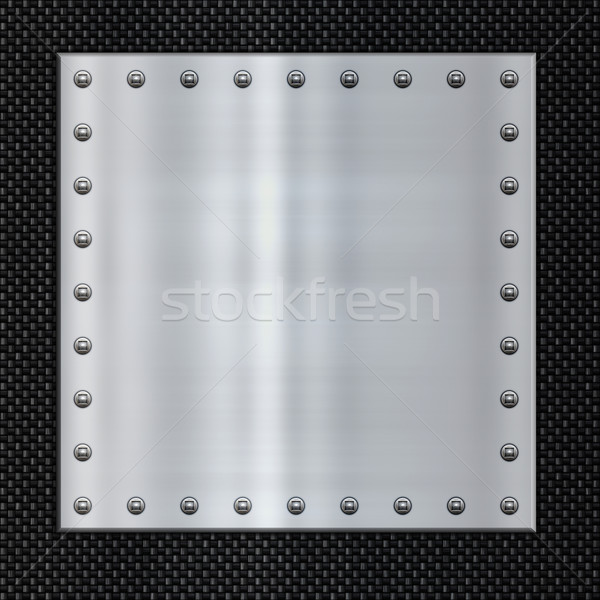steel and carbon fibre Stock photo © clearviewstock