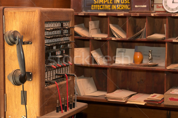 old communications Stock photo © clearviewstock
