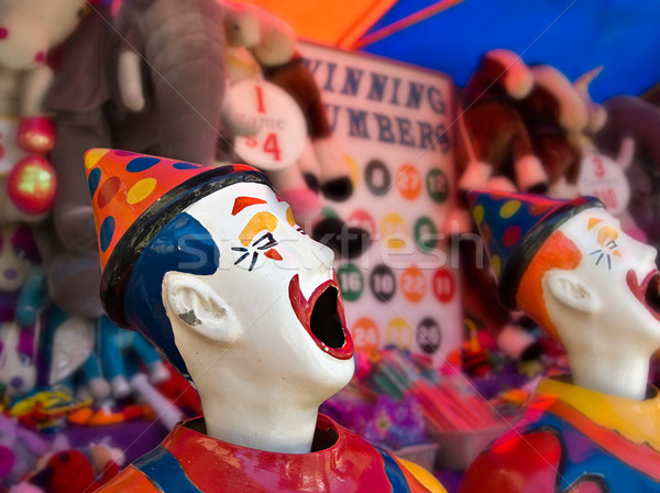 clowns at the funfair Stock photo © clearviewstock