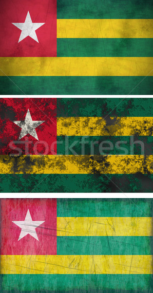 Bandiera Togo immagine Foto d'archivio © clearviewstock