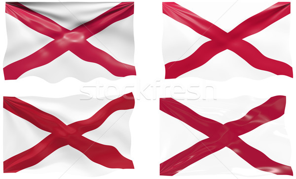 флаг Алабама изображение Сток-фото © clearviewstock