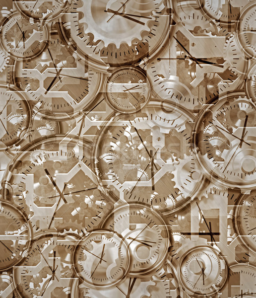 time gone by clocks and clockwork Stock photo © clearviewstock