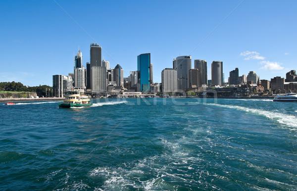 Zeilen Sydney groot afbeelding haven zee Stockfoto © clearviewstock