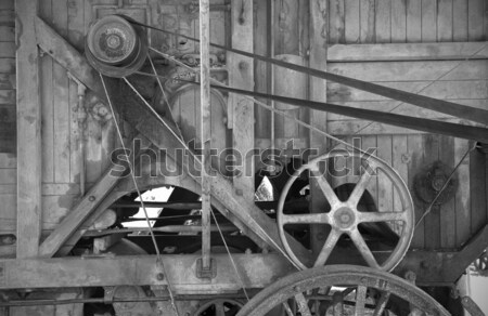 old farm machinery Stock photo © clearviewstock