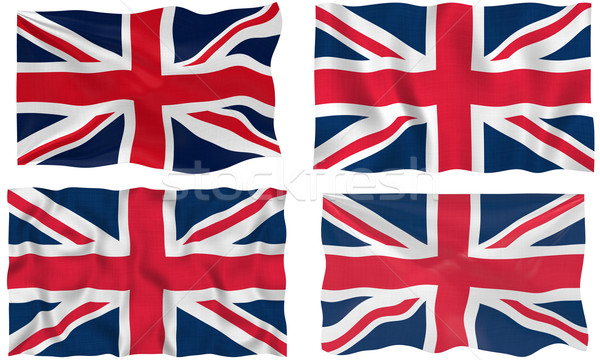 Flag of the United Kingdom Stock photo © clearviewstock