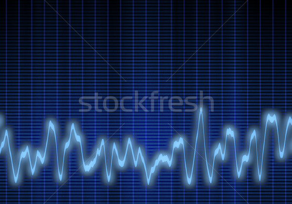 audio or sound wave Stock photo © clearviewstock