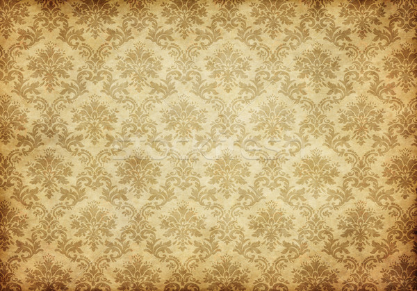 old damask wallpaper Stock photo © clearviewstock