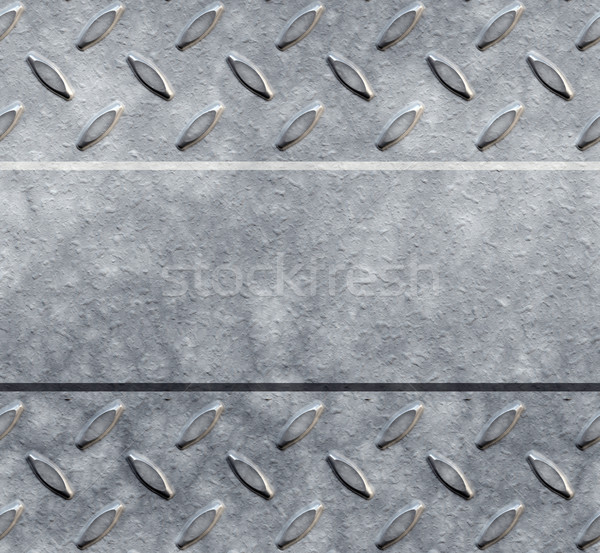 diamond plate background Stock photo © clearviewstock