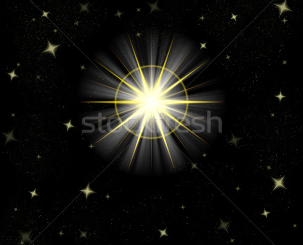shining star Stock photo © clearviewstock
