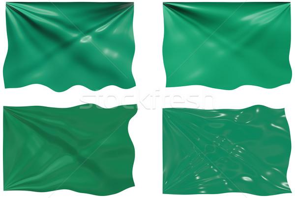 Banderą Libia obraz Zdjęcia stock © clearviewstock