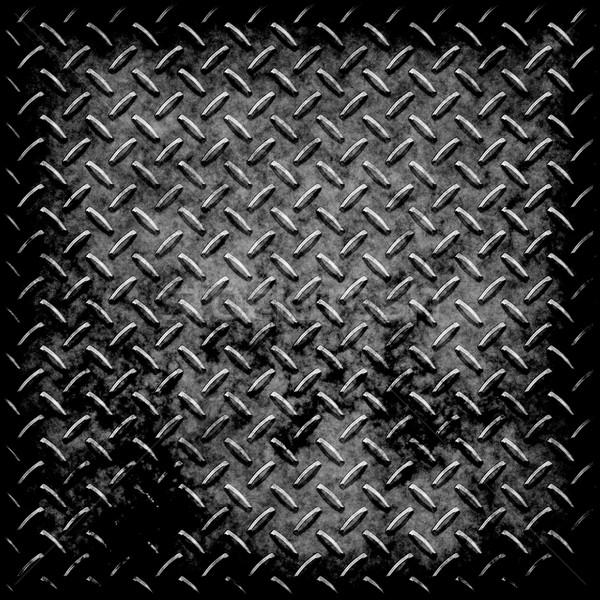 diamond plate metal texture Stock photo © clearviewstock