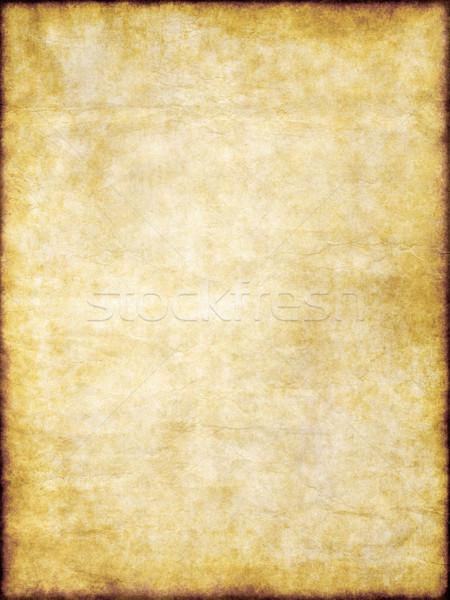 Foto d'archivio: Vecchio · giallo · rosolare · vintage · pergamena · texture · carta