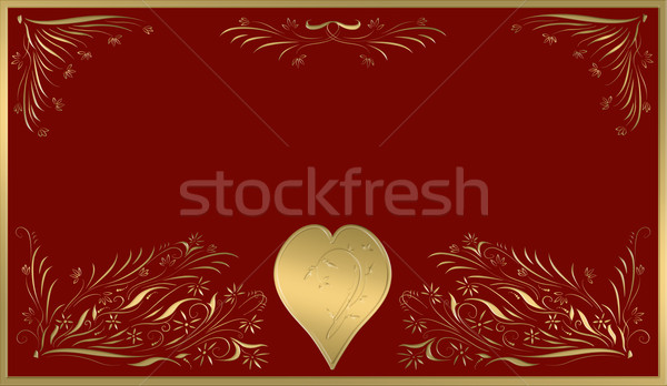 valentines card Stock photo © clearviewstock