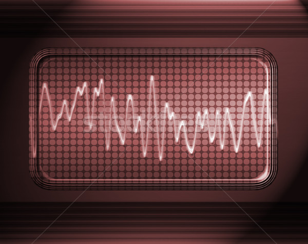 sound or audio wave Stock photo © clearviewstock