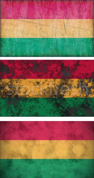フラグ ボリビア 画像 3  グランジ ストックフォト © clearviewstock