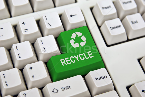 recycle keyboard Stock photo © clearviewstock