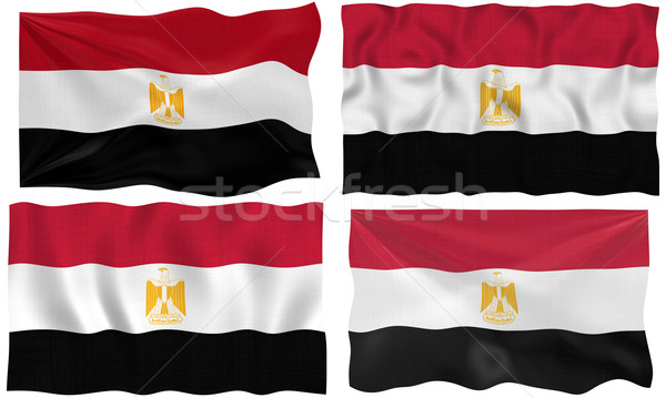 Flag of Egypt Stock photo © clearviewstock