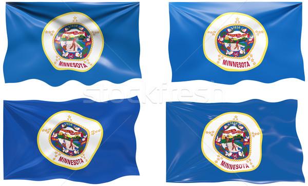 флаг Миннесота изображение Сток-фото © clearviewstock